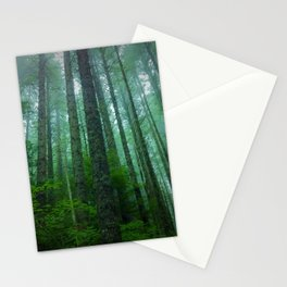 Misty Mountain Forest Stationery Cards