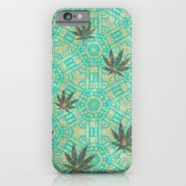 Beachy Steampunk Weed iPhone Case