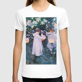 John Singer Sargent - Carnation, Lily, Lily, Rose T-shirt