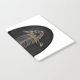 Embroidered horned lizard Notebook