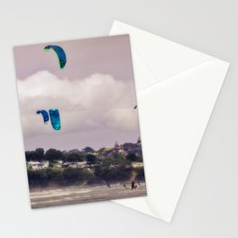 Kite Surfer congestion Stationery Cards
