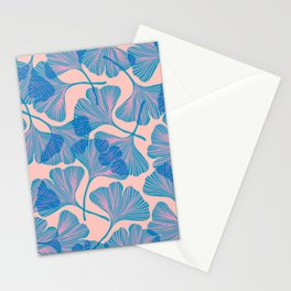 Abstraction_Ginkgo_Pattern_Minimalism_002 Stationery Cards