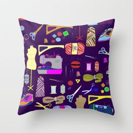 Cohens Throw Pillow
