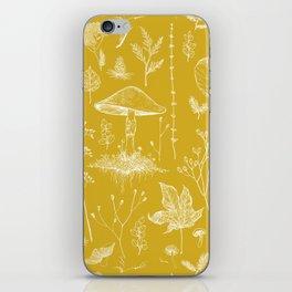 Woodland Walk / Mustard iPhone Skin