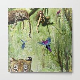 Tarzan's Last Jump Metal Print
