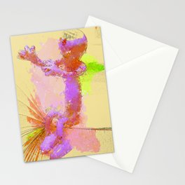 sitting Manikin Stationery Cards