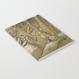 Cernunnos (monochrome) Notebook