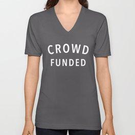 Crowd Funded Unisex V-Neck