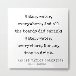 3     | Samuel Taylor Coleridge Poems | 200207 Metal Print