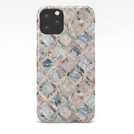 Marble Moroccan Tile Pattern iPhone Case