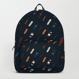 Vintage Vaccines - Small on Navy Backpack