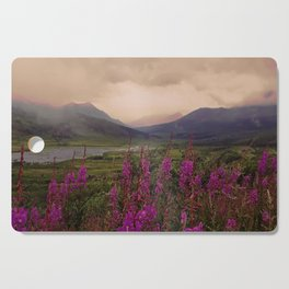 PinkCanadianNorth Cutting Board