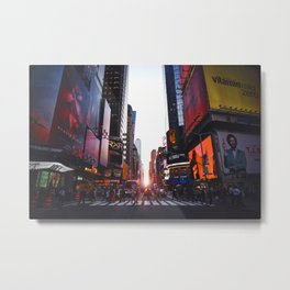 New York City 24 Metal Print