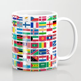 Flags Of The World Coffee Mug