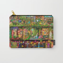 The Secret Garden Book Shelf Carry-All Pouch