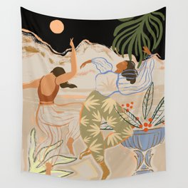 Dance under the Moonlight Wall Tapestry