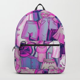 PINK CLOTHES Backpack