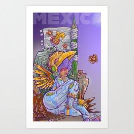 Mexica Art Print
