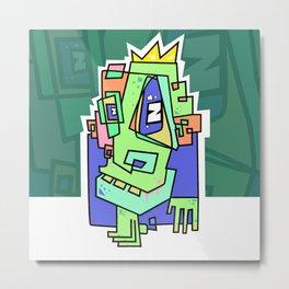 Zom B King Metal Print