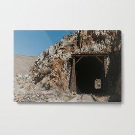 See Through Metal Print