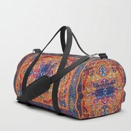 N86 - Vintage Boho Berber Moroccan Handmade Style Design. Duffle Bag