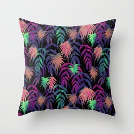 New Palm Beach - Winter Throw Pillow