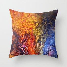 SoapsAndRoses.Art: Fluid Sunset Throw Pillow