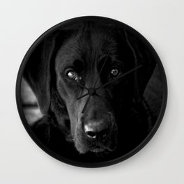 Loyalty  Black Lab  Wall Clock