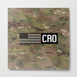 CRO (Camo) Metal Print
