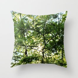 Sprinkled with Joy Throw Pillow