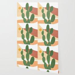Abstract Cactus II Wallpaper