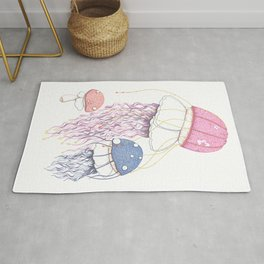 Jelly Shrooms Rug