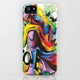 Kneeling Buddha iPhone Case
