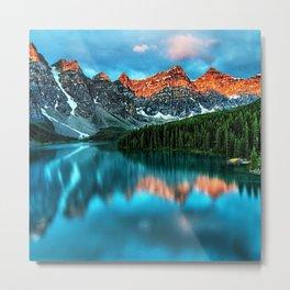 Lake Louise - Alberta, Canada Landscape Metal Print