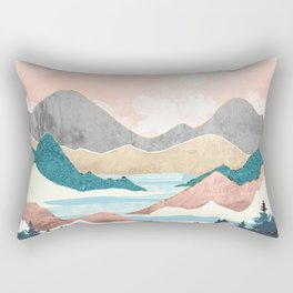 Lake Sunrise Rectangular Pillow