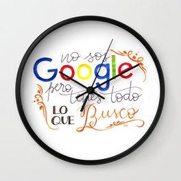 Google Wall Clock