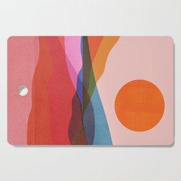 Abstraction_OCEAN_Beach_Minimalism_001 Cutting Board