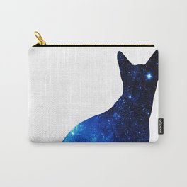 Blue univerCAT Carry-All Pouch