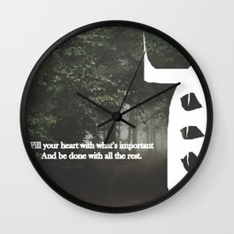 La Dispute - LLC 3 eyed beast Wall Clock