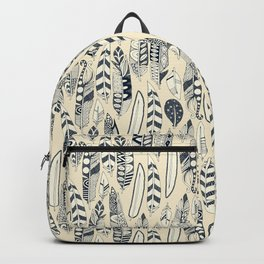 joyful feathers cream Backpack