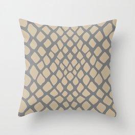 Snake Skin Pattern Throw Pillow
