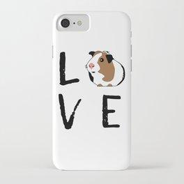 Guinea Pig Gift Love Guinea Pig Guinea Pig Lovers Birthday Present iPhone Case