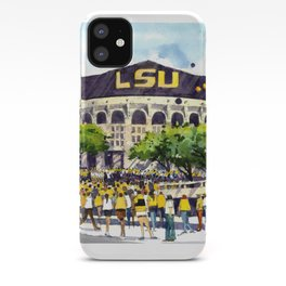 LSU Game Day iPhone Case