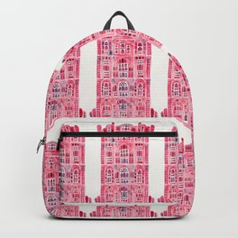 Hawa Mahal – Pink Palace of Jaipur, India Backpack