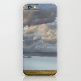 Big Sky Pasture iPhone Case
