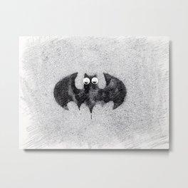 Cute Bat Baby Metal Print