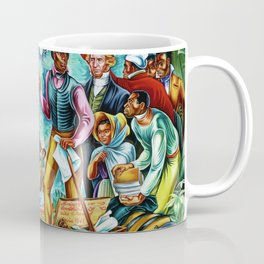 "African American Classical Masterpiece ""The Repatriation of the Freed Captives"" by Hale Woodruff Coffee Mug"