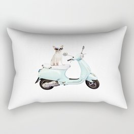 Ciao Chihuahua Rectangular Pillow