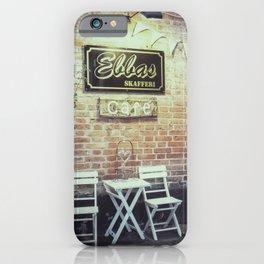 Ebbas cafe iPhone Case
