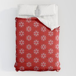 Snowflake Abstract Pattern Comforters